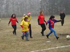 Дамски футболен мач в Кубратово