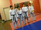 Тренировка на отбора по карате в Нови Искър