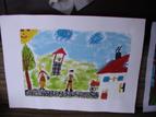 Рисунки на деца от Мировяне за участие в конкурса Илюстрация по приказка на слав