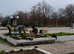 Пролетно почистване на площадите в град Нови Искър