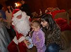 Дядо Коледа в квартал Кумарица
