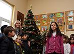 Палене светлините на Коледната елха в 171 ОУ