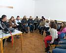 На посещение в тренирочъчния център на БЧК в село Лозен