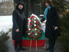 loko01.jpg - <p>Село Локорско чества 3 март и почита паметта на Ботевия четник Илия Джагаров по повод 120 години от неговата гибел</p>
