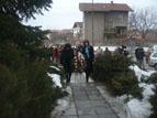 loko02.jpg - <p>Село Локорско чества 3 март и почита паметта на Ботевия четник Илия Джагаров по повод 120 години от неговата гибел</p>