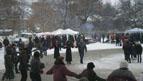 13.JPG - <p>Честване на празника Трифон Зарезан в село Кътина - 5 февруари 2012 година</p>