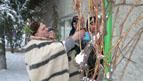 2.JPG - <p>Честване на празника Трифон Зарезан в село Кътина - 5 февруари 2012 година</p>