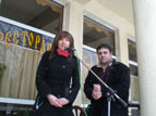 3.JPG - <p>Честване на празника Трифон Зарезан в село Кътина - 5 февруари 2012 година</p>