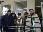 6.JPG - <p>Честване на празника Трифон Зарезан в село Кътина - 5 февруари 2012 година</p>