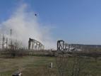 2-Разрушаването на кулите на бившата ТЕЦ в индустриалната зона на квартал Курило