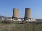 3-Разрушаването на кулите на бившата ТЕЦ в индустриалната зона на квартал Курило