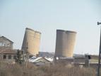 4-Разрушаването на кулите на бившата ТЕЦ в индустриалната зона на квартал Курило