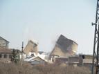 5-Разрушаването на кулите на бившата ТЕЦ в индустриалната зона на квартал Курило