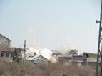 6-Разрушаването на кулите на бившата ТЕЦ в индустриалната зона на квартал Курило