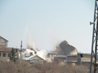 8-Разрушаването на кулите на бившата ТЕЦ в индустриалната зона на квартал Курило
