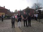 2 - Кмета на района, Даниела Райчева и кмета на село Подгумер,<br />Валери Динчев откриват празника