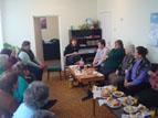Среща с пенсионерски клуб в Локорско