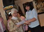 Годишна сбирка на пенсионерите, навършили кръгла годишнина